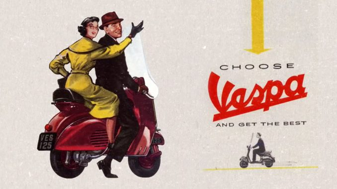 """Vespa – """"Made in Italy"""" skootteri"""
