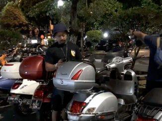Vespa retki Yogyakartassa