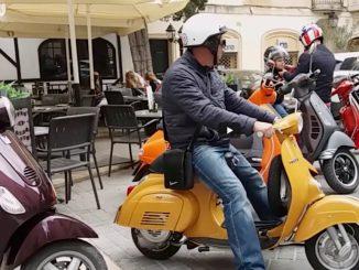 Vespa ajelua Maltalla