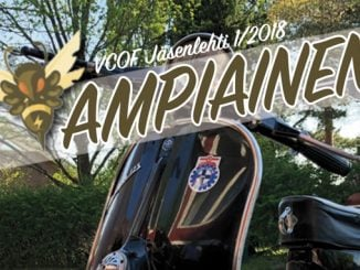Ampiainen – Vespa Club of Finland jäsenlehti