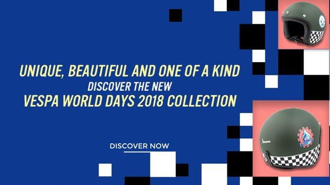 Vespa World Days 2018 kypärämallisto