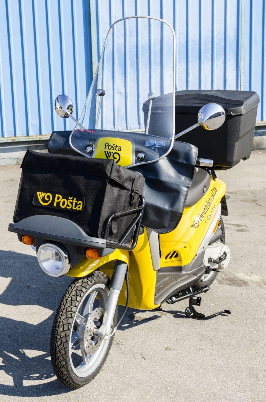 Kroatin postin Piaggio Liberty