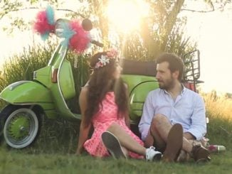 Vespa Day – Just Married