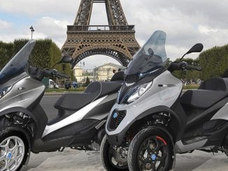Uudet Piaggio MP3 skootterit esiteltiin Pariisissa