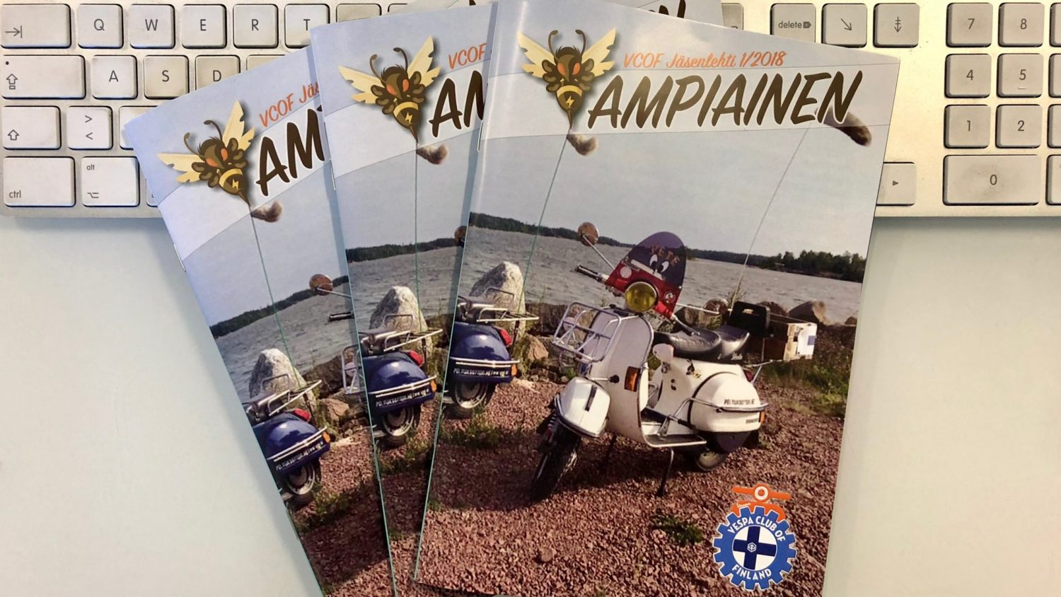 Ampiainen - Vespa Club of Finland
