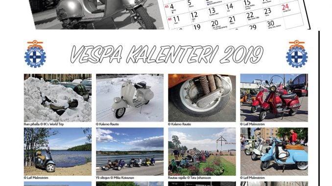 Vespa kalenteri 2019